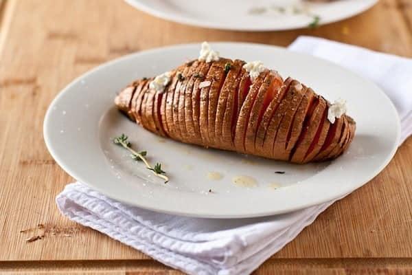 RecipeTin Eats ESSENTIALS | Hasselback Potatoes - 5 Takes | Sweet Potato Hasselback Potatoes