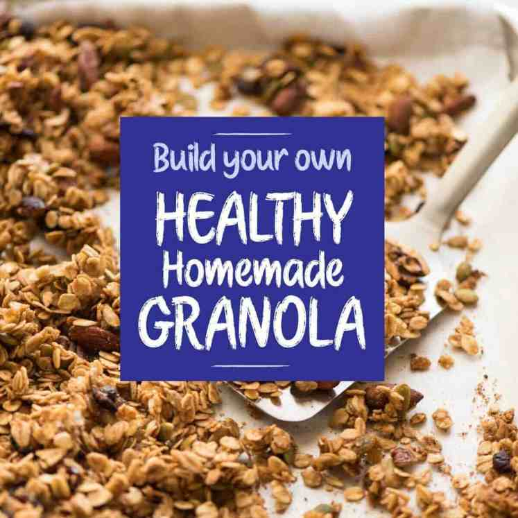 Build Your Own - Healthy Homemade Granola recipetineats.com