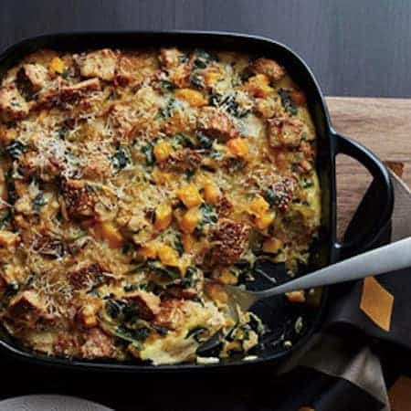 RecipeTin Eats | Breakfast Casserole Strata Essentials | Butternut Squash Kale Strata