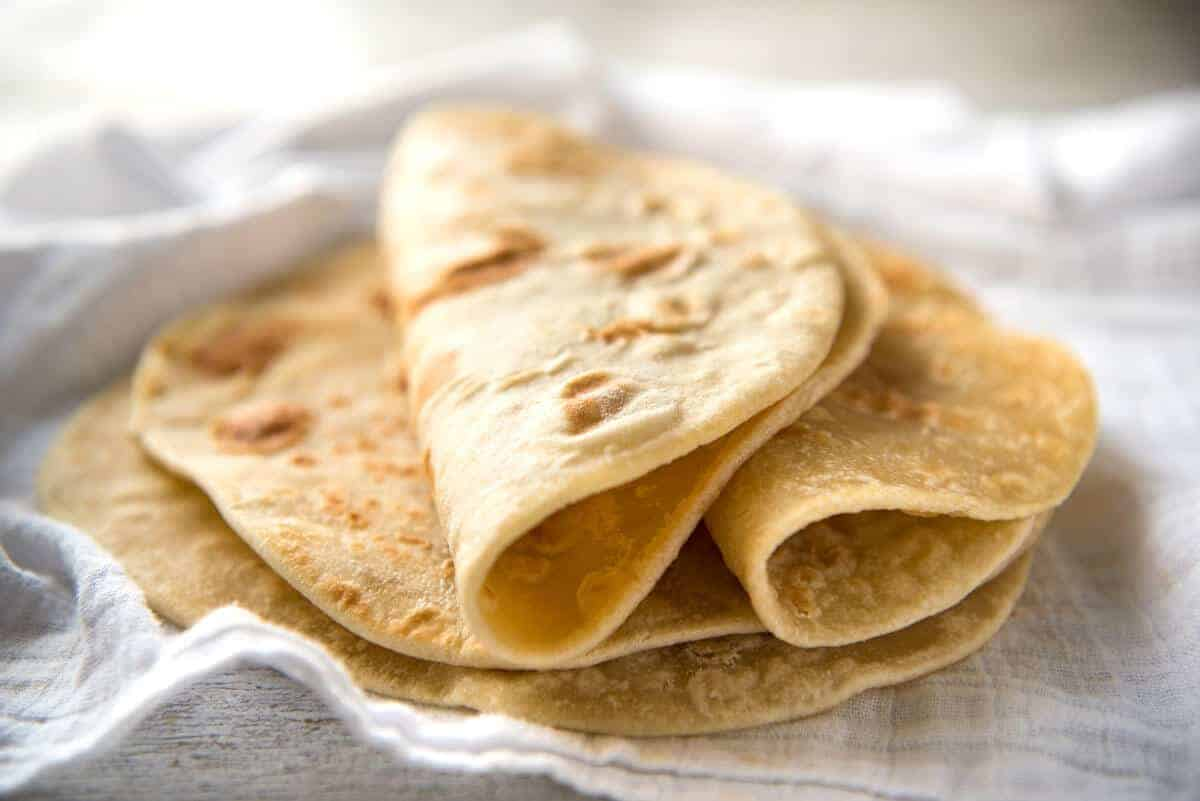Easy Soft Flatbread Recipe No Yeast Recipetin Eats