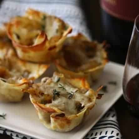French Onion Soup Cups
