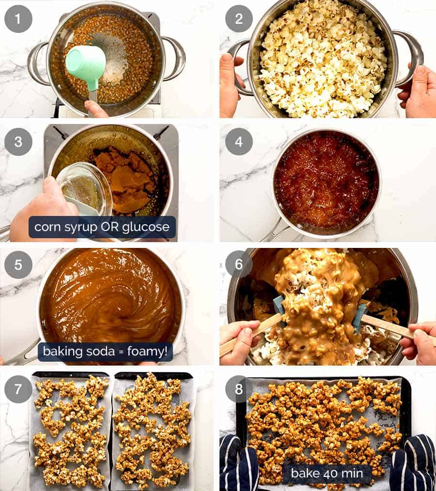 Caramel Popcorn Caramel Corn Recipetin Eats