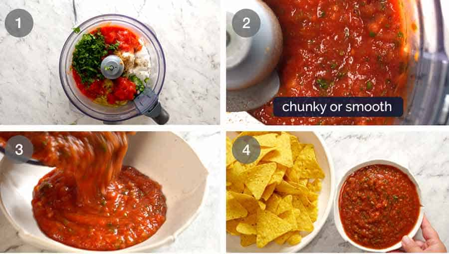 How to make salsa - restaurant style