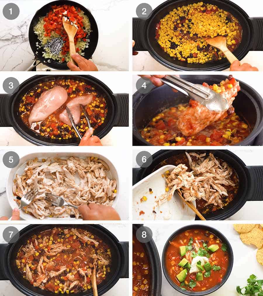 How to make Mexican Soup with chicken