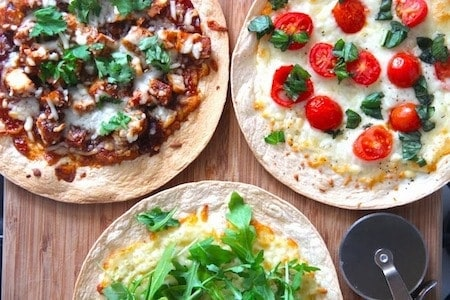 24 Things To Make With Tortillas: Tortilla Pizza Base