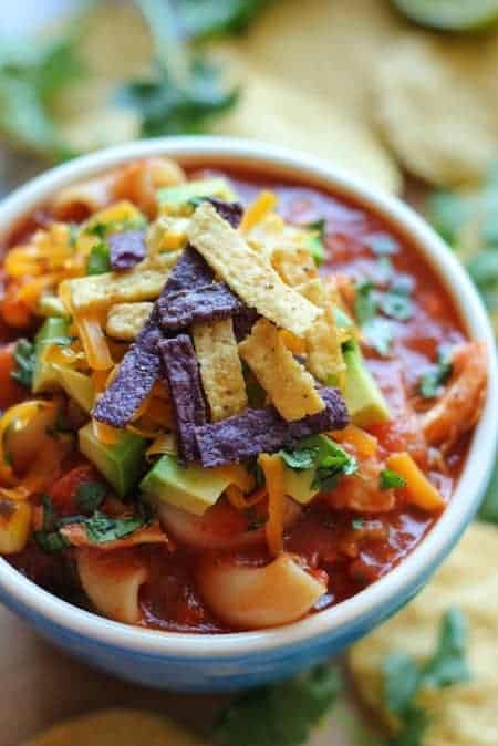 24 Things To Make With Tortillas: Chicken Tortilla Soup