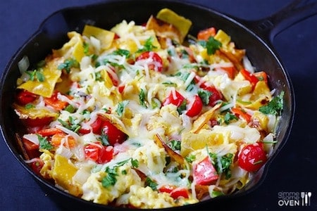 24 Things To Make With Tortillas: Mexican Breakfast Migas