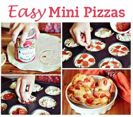 24 Things To Make With Tortillas: Mini Pizza