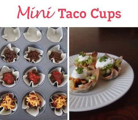 Taco-cups