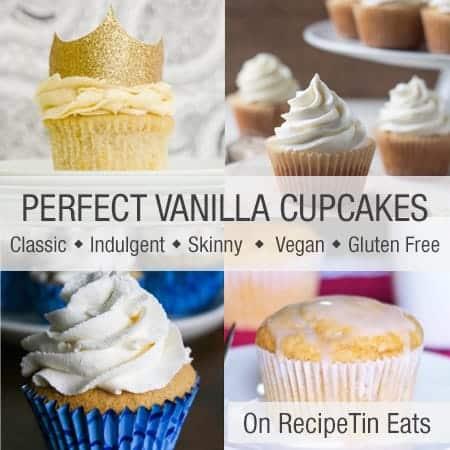 RecipeTin Eats Round Up: Perfect Vanilla Cupcakes