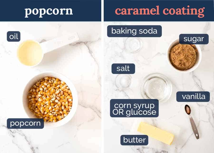What goes in Caramel Popcorn