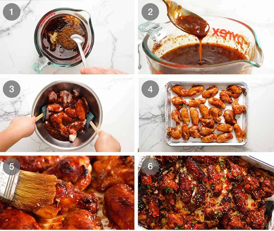 How to make Sticky Chinese Chicken Wings
