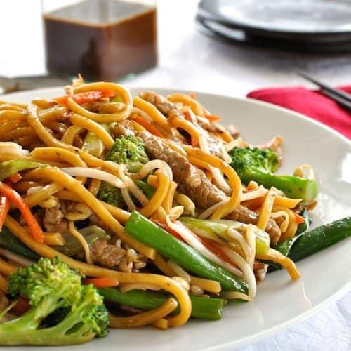 Image result for stir fry noodles