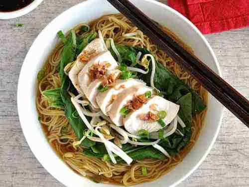 Foolproof Poached Chicken Chinese Noodle Soup Recipetin Eats,How To Clean White Hats