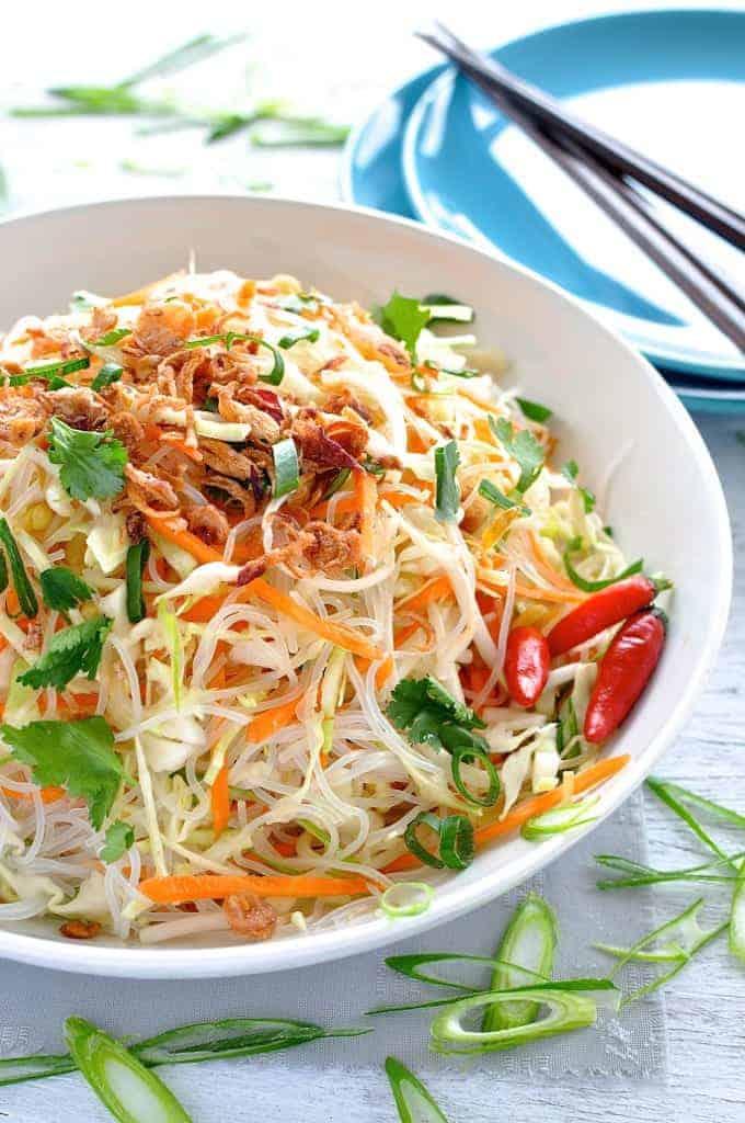 Asian Vermicelli Noodle Salad