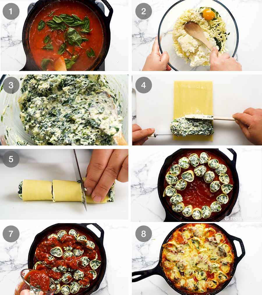 How to make Spinach and Ricotta Rotolo