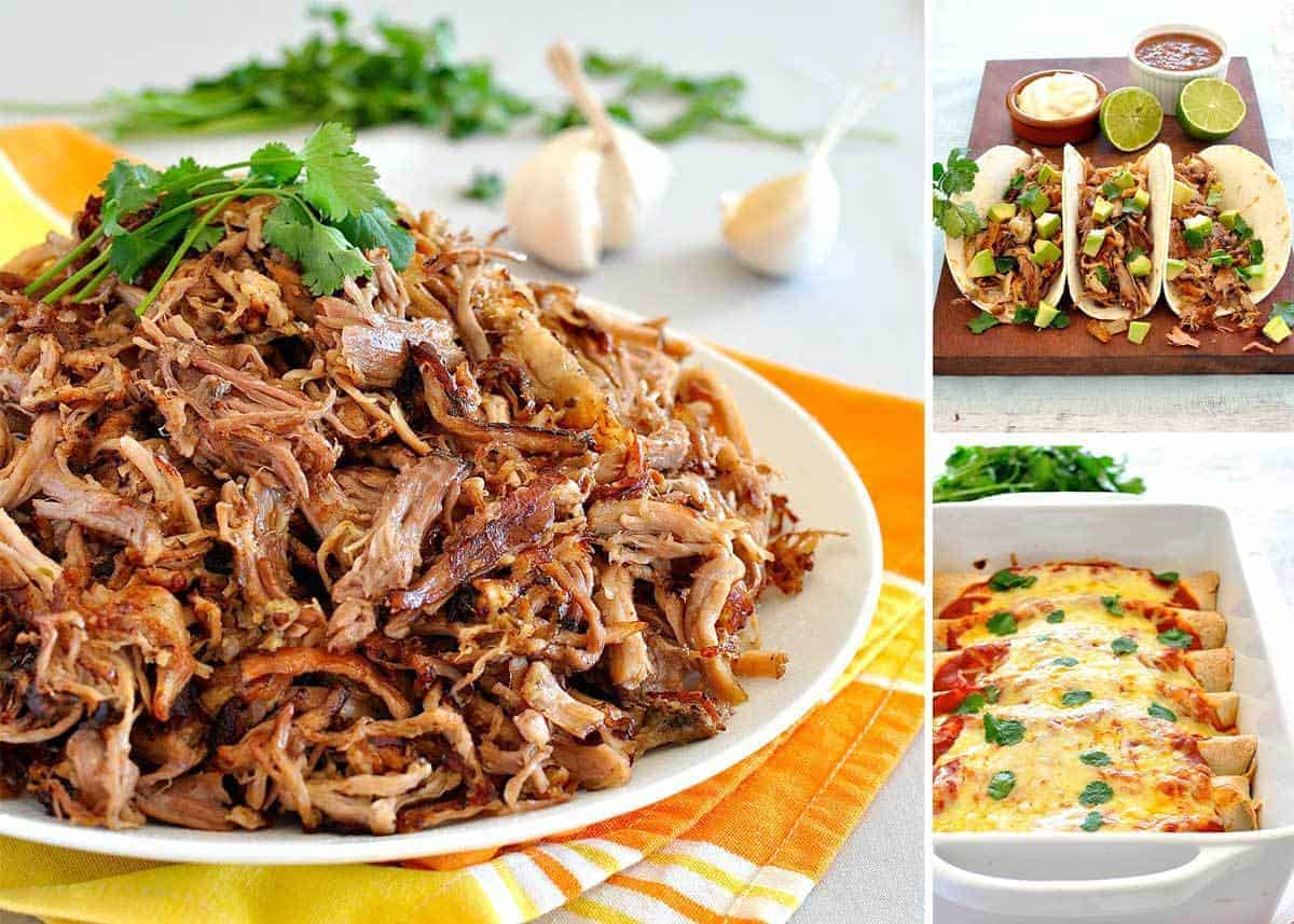 Pork Carnitas (Mexican Slow Cooker Pulled Pork) | RecipeTin Eats