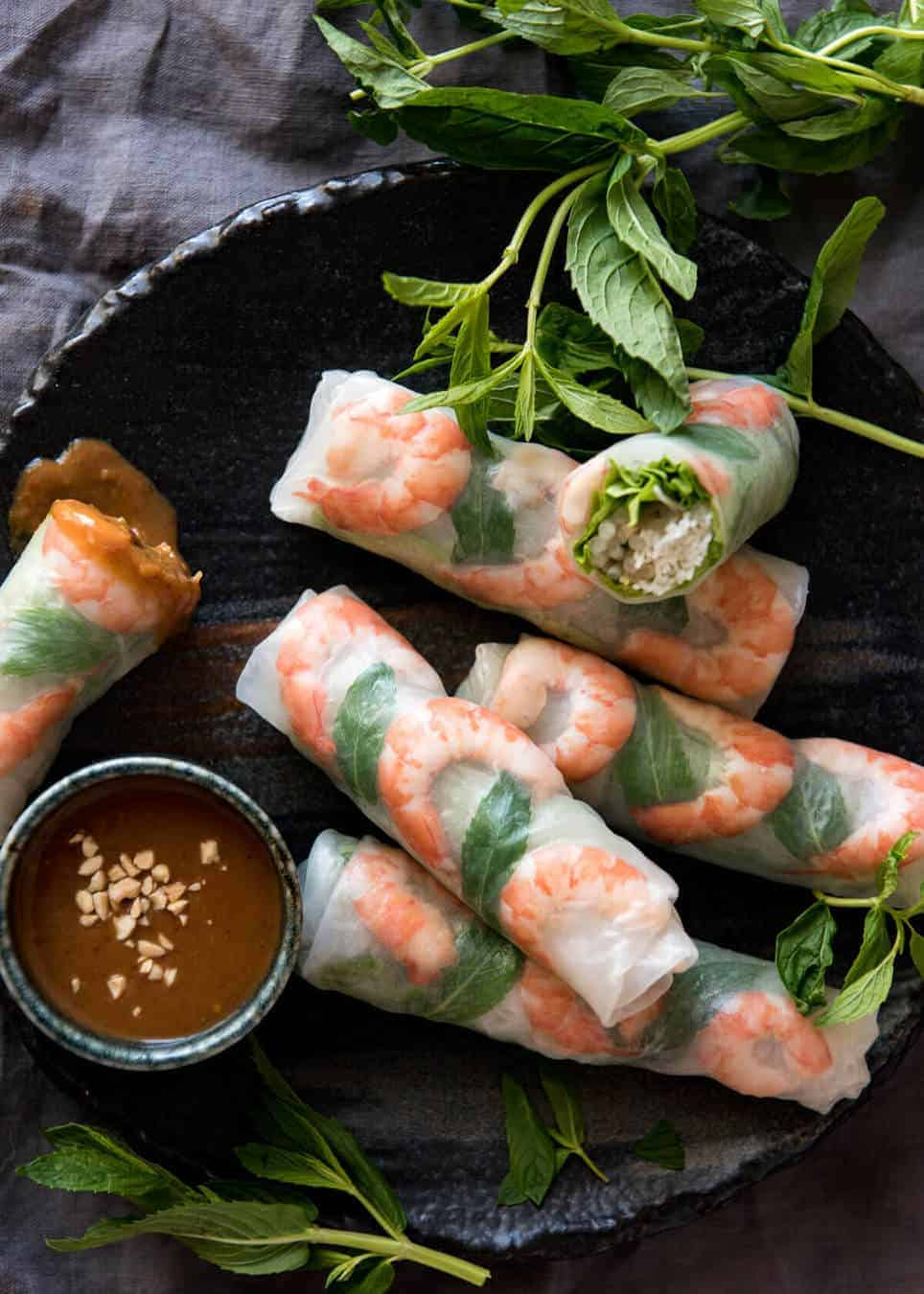 Vietnamese Rice Paper Rolls | RecipeTin Eats