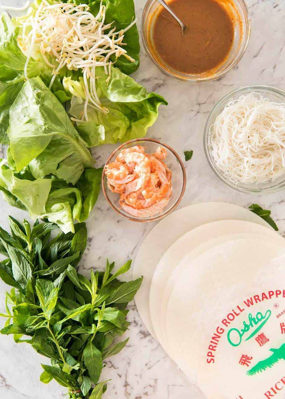 Jam packed with fresh, bright flavours, learn how to make Vietnamese Rice Paper Rolls with an easy to follow video tutorial and step by step photos. Served with an addictive Vietnamese Peanut Dipping Sauce! recipetineats.com