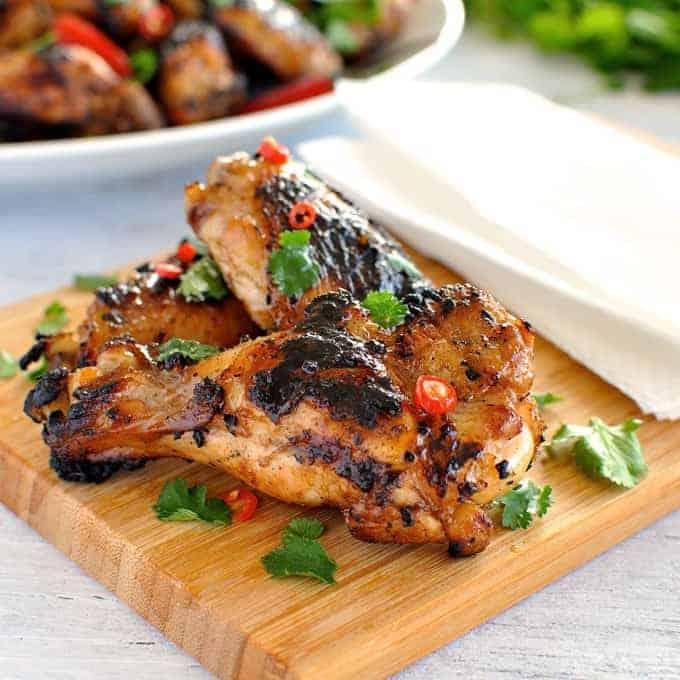 Grilled Vietnamese Chicken Wings | RecipeTin Eats