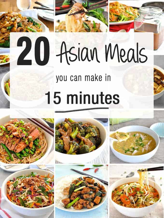 20 Asian Meals On The Table In 15 Minutes Recipetin Eats