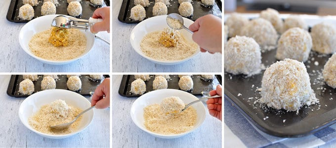 Including the secret for the perfect golden crunchy crumb and keeping your fingers clean!