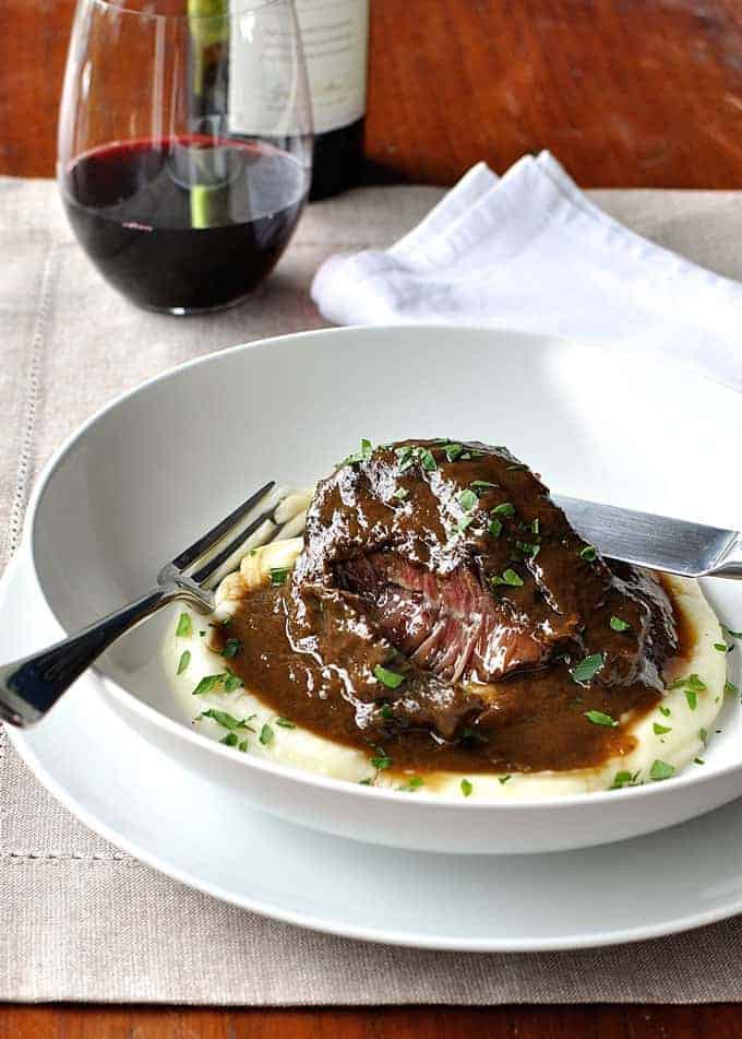 These Slow Cooked Beef Cheeks Are Meltingly Tender Easy To Make Braised In A