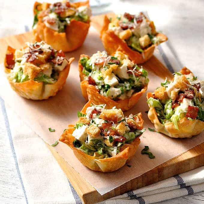 25 party food recipes recipetin eats for Canape cup fillings