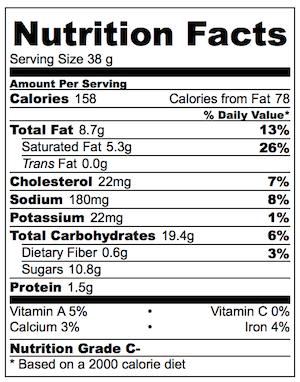 Cinnamon Sugar Bread Crust Treats Nutrition