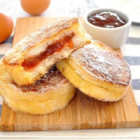 Jam Jelly Doughnut French Toast