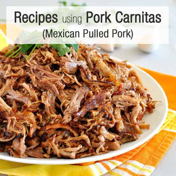 Pork Carnitas Series Recipetin Eats