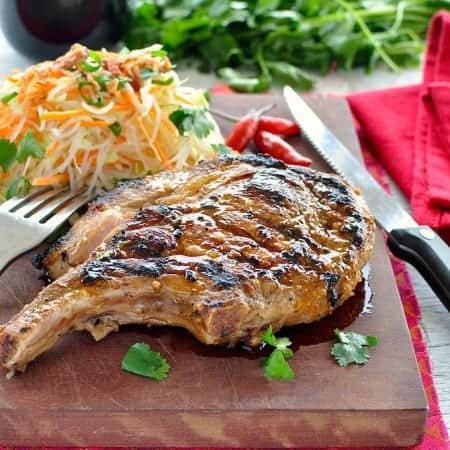 Lemongrass Vietnamese Pork Cutlet
