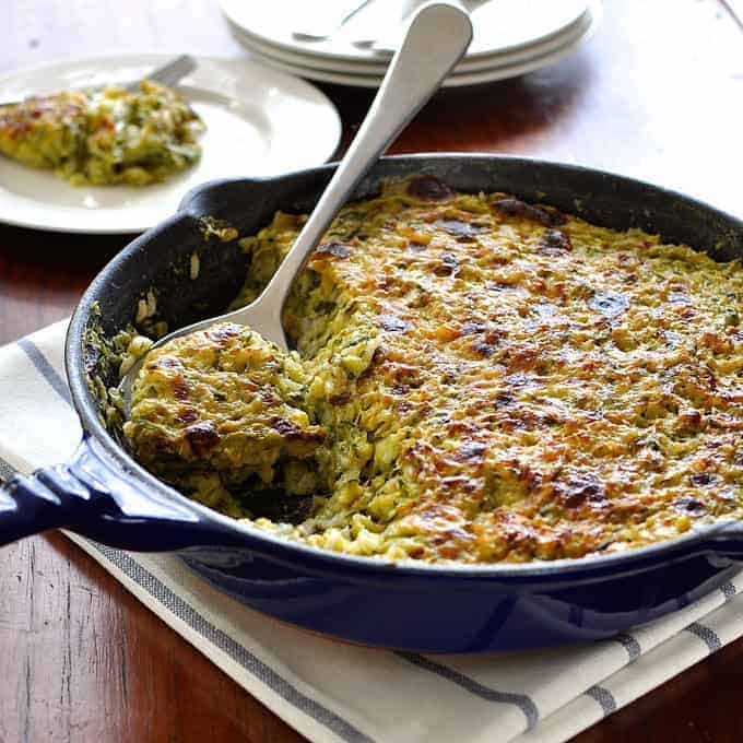 Zucchini Tian (Risotto / Rice Bake)