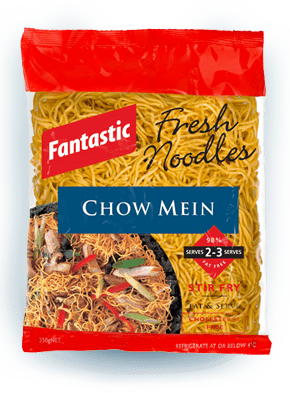 Packet of chow mein noodles
