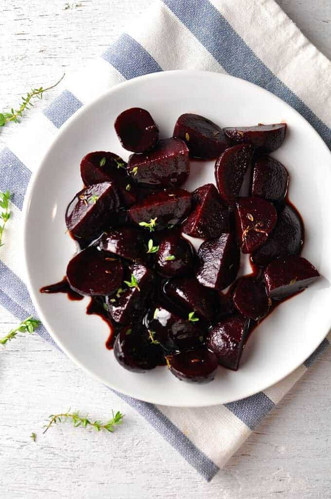 Balsamic Glazed Beetroot Recipetin Eats