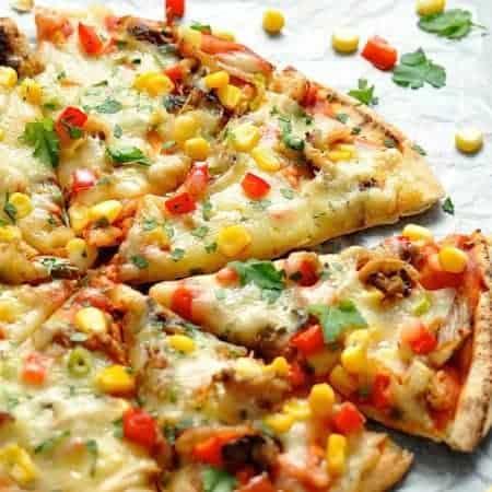 Mexican Pizzas (Freezer Friendly)