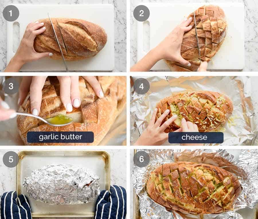 How do you make Cheese and Garlic Pull Apart Bread?