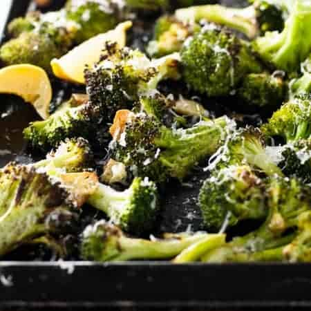 Magic Broccoli - the best damn broccoli you will ever have. 4 ingredient magic.