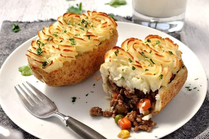 Shepherds Pie Potato Skins Sainsburys Jamie