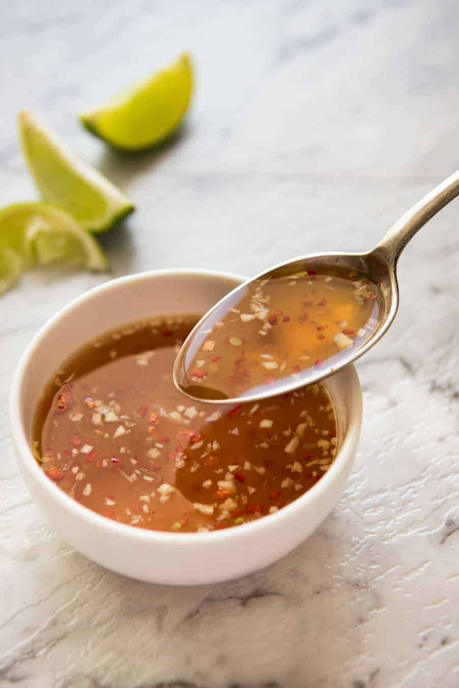 Nuoc Cham (Vietnamese Dipping Sauce) www.recipetineats.com