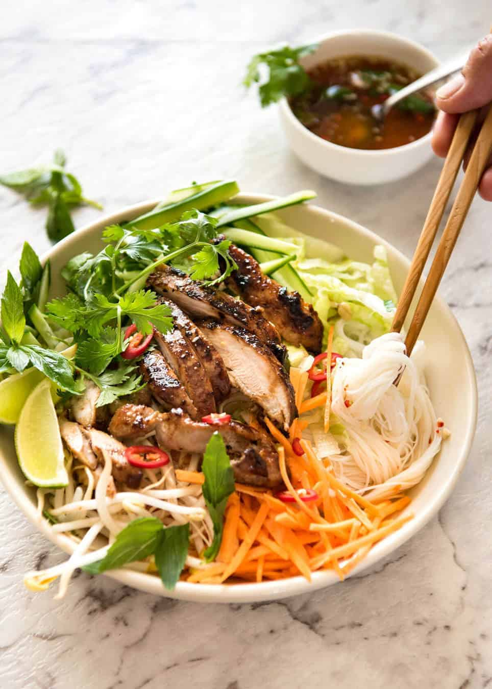 Vietnamese lemongrass chicken recipe