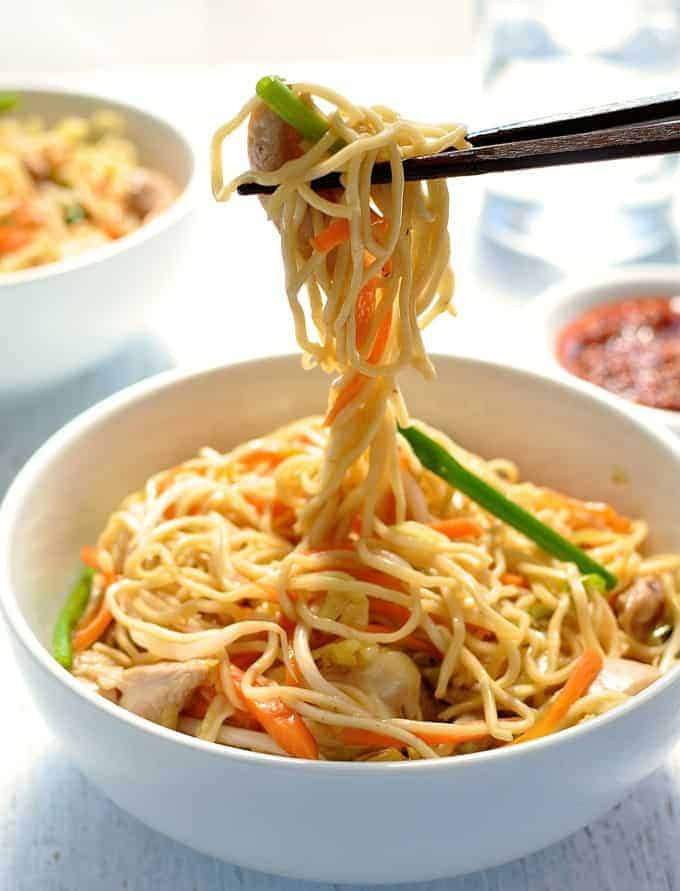 Proper Chicken Chow Mein recipe. Faster than takeout, and a surprising ...