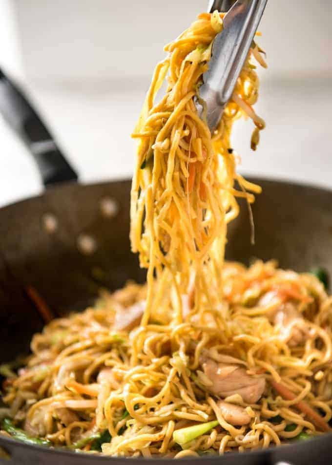 Proper chicken chow mein recipetin eats this chow mein really does taste like what you get from chinese restaurants the secret forumfinder Image collections