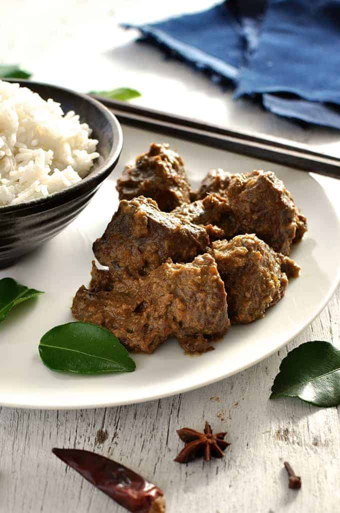 Beef Rendang - RecipeTin Eats