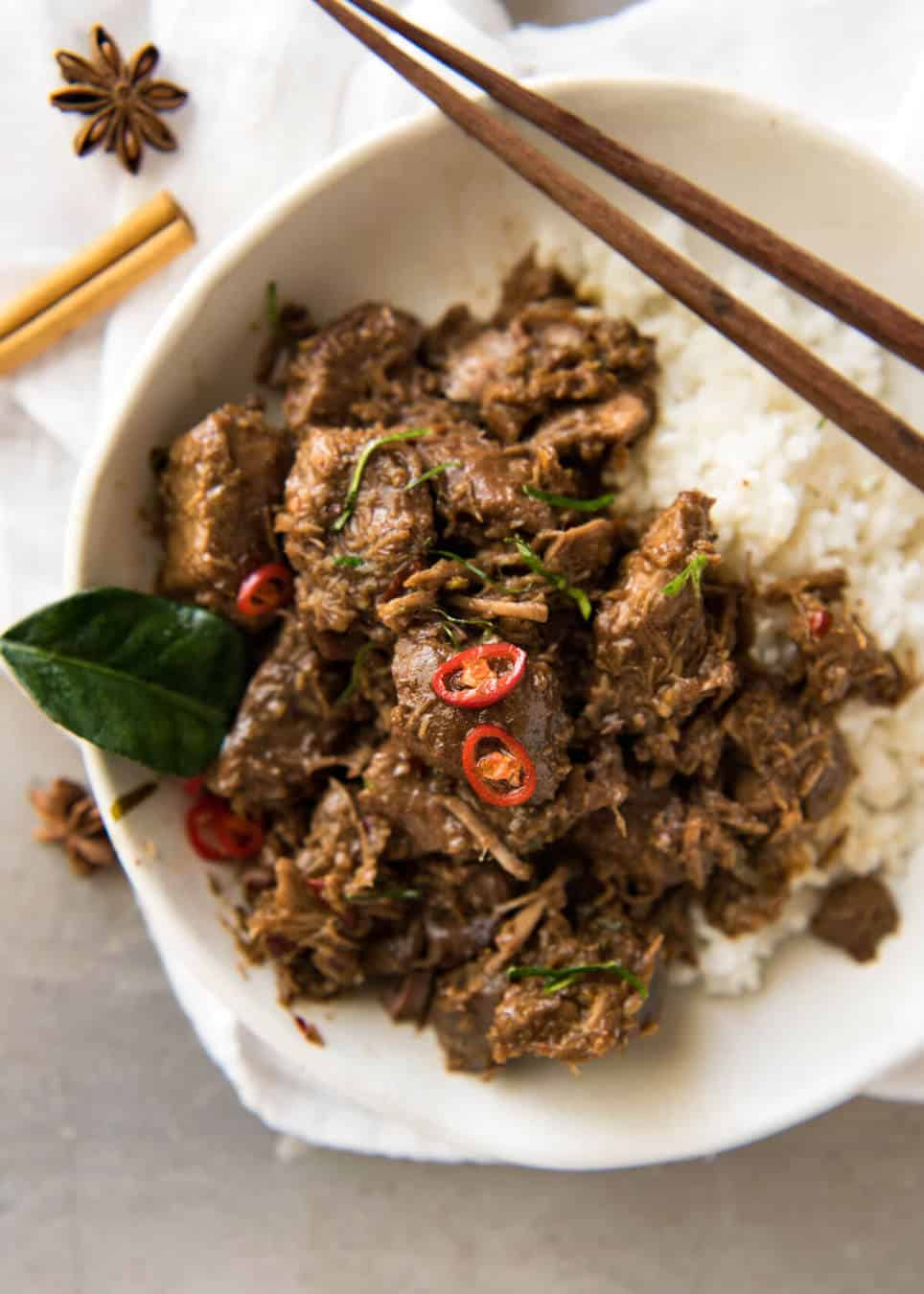 The King of all Curries, Beef Rendang is straight forward to make and has incredible deep, complex flavours. Quick recipe video provided! www.recipetineats.com