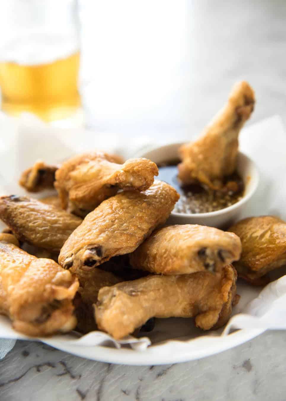 Truly Crispy Oven Baked Chicken Wings Recipetin Eats