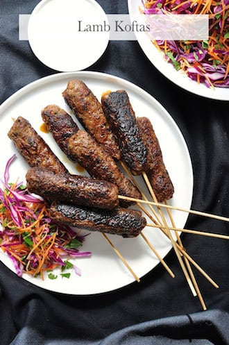 Arabian Feast Menu (1 hr prep): Lamb Koftas