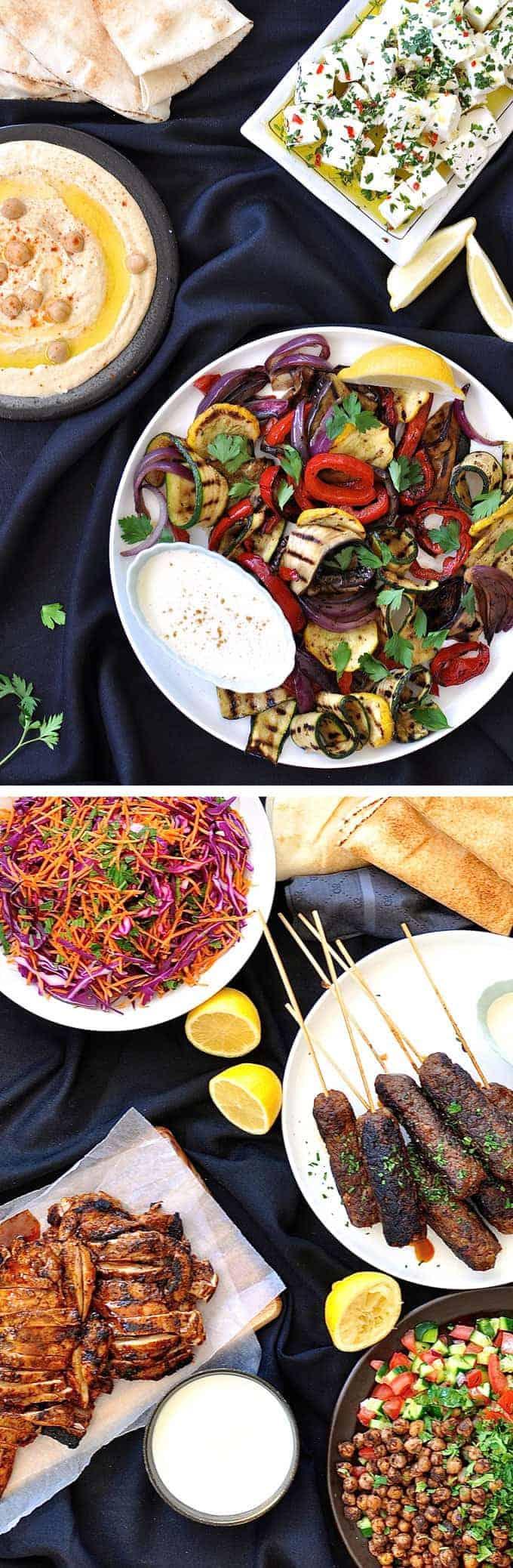 Arabian Feast | RecipeTin Eats