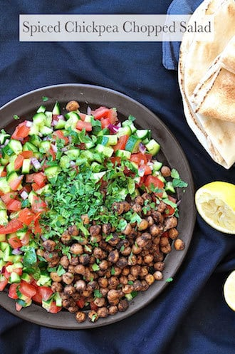 Arabian Feast Menu (1 hr prep): Spiced Chickpea Salad