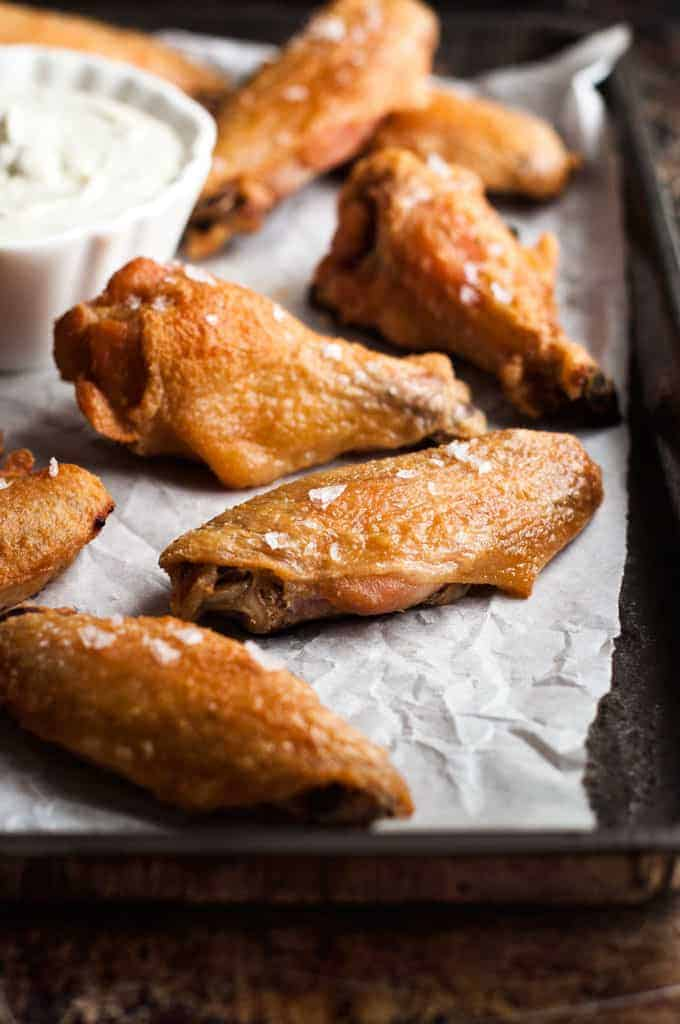 Easy Crispy Baked Buffalo Wings Recipe — Dishmaps